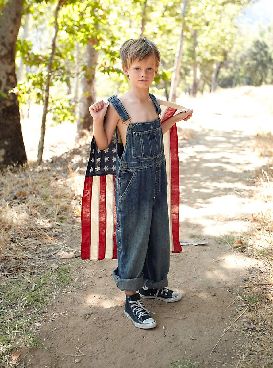 Indian_American_Flag_Kids_Photography