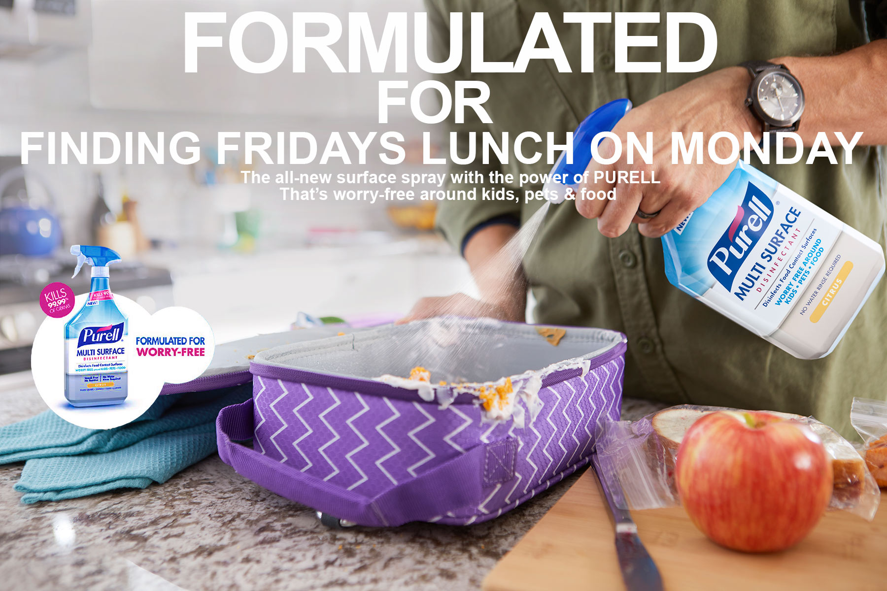 Purell_Lifestyle_Advertising_Photographer_Chicago_LA_Los_Angeles_Kitchen_Cleaning_Lunchbox_Kids_Spray_Bottle_Mike_Henry_Photo
